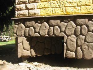 Облицовка свайных фундаментов
