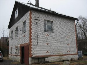Облицовка кирпичных домов