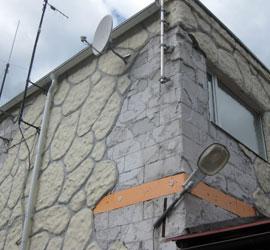 Облицовка газобетонных домов