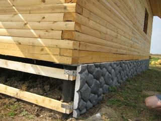 Легкие каменые панели - серый гранит